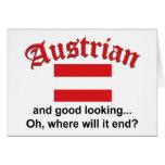 Good Looking Austrian - Card