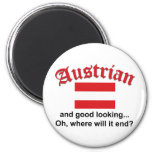 Good Looking Austrian Fridge Magnets