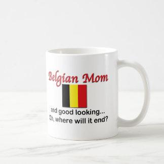 Good Looking Belgian Mom Coffee Mug