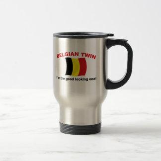 Good Looking Belgian Twin 15 Oz Stainless Steel Travel Mug