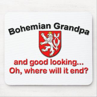 Good Looking Bohemian Grandpa Mouse Pad