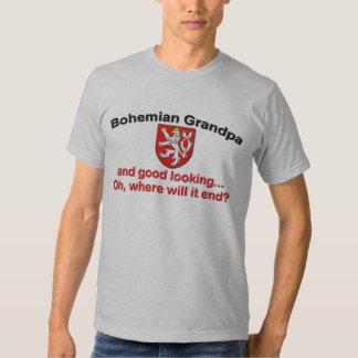 Good Looking Bohemian Grandpa T Shirt