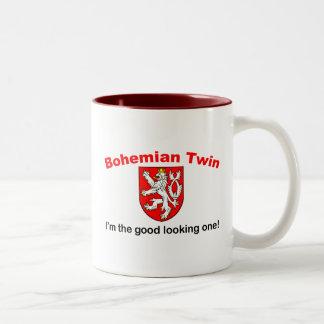 Good Looking Bohemian Twin Two-Tone Coffee Mug