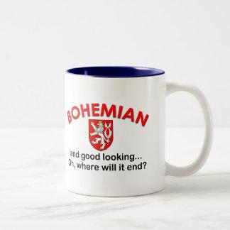 Good Looking Bohemian Two-Tone Coffee Mug