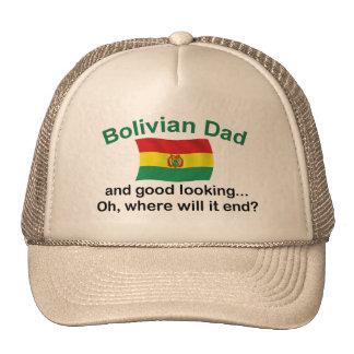 Good Looking Bolivian Dad Trucker Hat