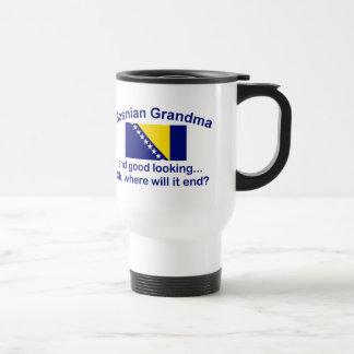 Good Looking Bosnian Grandma Travel Mug