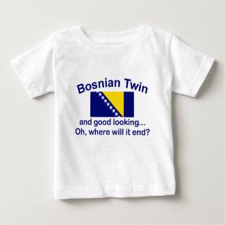 Good Looking Bosnian Twin Baby T-Shirt