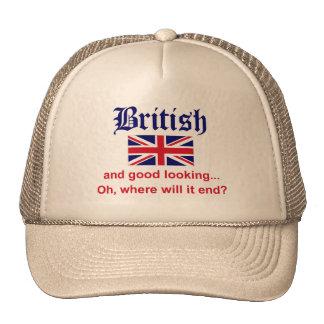 Good Looking British Mesh Hat