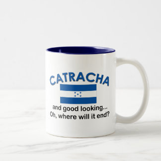 Good Looking Catracha (Honduran) Two-Tone Coffee Mug