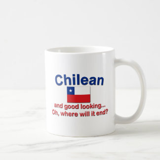 Good Looking Chilean Classic White Coffee Mug