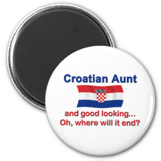 Good Looking Croatian Aunt Magnet