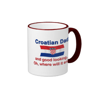 Good Looking Croatian Dad Ringer Mug
