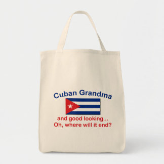 Good Looking Cuban Grandma Tote Bag