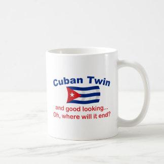 Good Looking Cuban Twin Classic White Coffee Mug