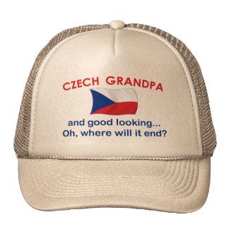 Good Looking Czech Grandpa Trucker Hat