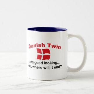 Good Looking Danish Twin Two-Tone Coffee Mug