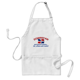 Good Looking Dominican Adult Apron