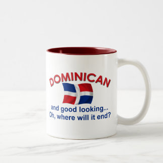 Good Looking Dominican Two-Tone Coffee Mug