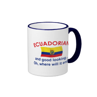 Good Looking Ecuadorian Ringer Mug