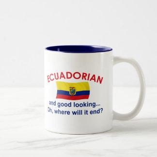 Good Looking Ecuadorian Two-Tone Coffee Mug