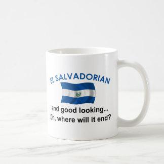 Good Looking El Salvadorian Classic White Coffee Mug