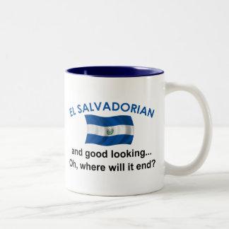 Good Looking El Salvadorian Two-Tone Coffee Mug