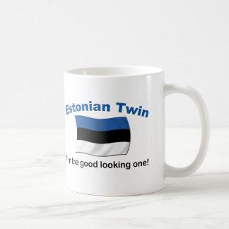 Good Looking Estonian Twin Classic White Coffee Mug
