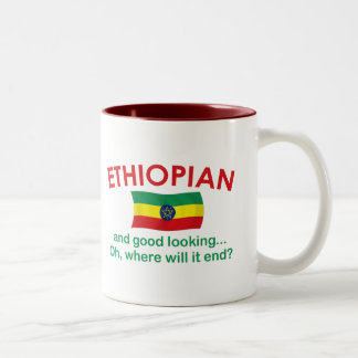 Good Looking Ethiopian Two-Tone Coffee Mug