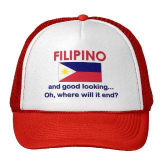 Good Looking Filipino Trucker Hat