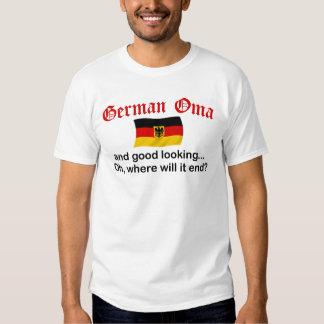 Good Looking German Oma T Shirt