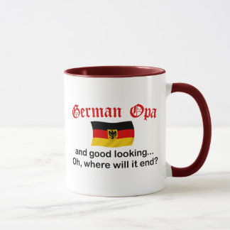 Good Looking German Opa Mug