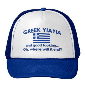 Good Looking Greek Yia Yia Trucker Hat