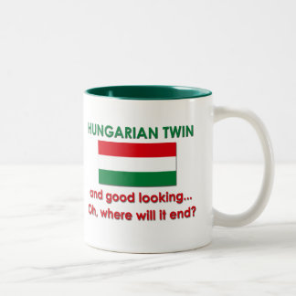 Good Looking Hungarian Twin Two-Tone Coffee Mug