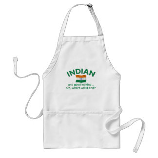 Good Looking Indian 1 Adult Apron