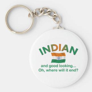 Good Looking Indian 2 Keychain