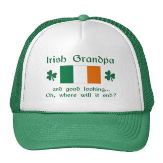 Good Looking Irish Grandpa Trucker Hat