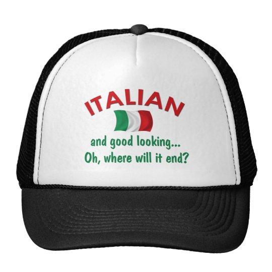 Good Looking Italian Trucker Hat