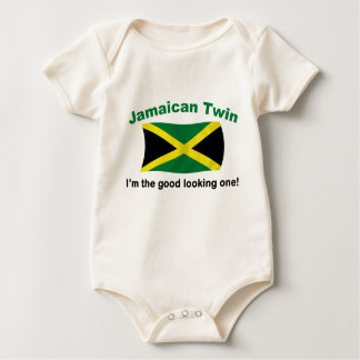 Good Looking Jamaican Twin Baby Bodysuit