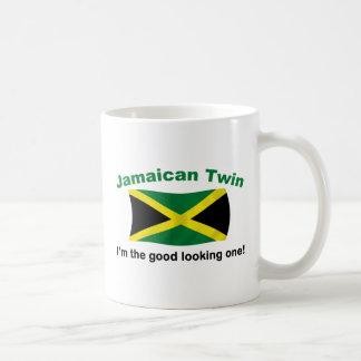 Good Looking Jamaican Twin Classic White Coffee Mug