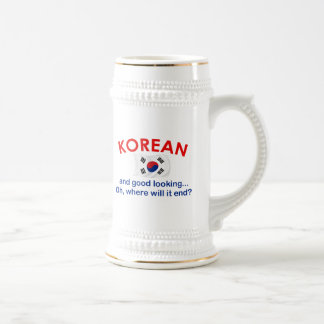 Good Looking Korean Beer Stein