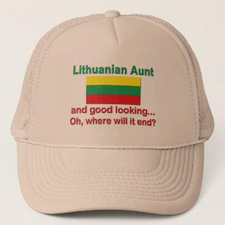 Good Looking Lithuanian Aunt Trucker Hat