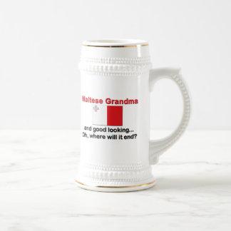 Good Looking Maltese Grandma Mug