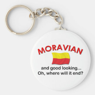Good Looking Moravian Keychain