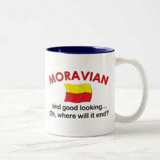 Good Looking Moravian Two-Tone Coffee Mug