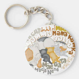 Good-looking mother keychain