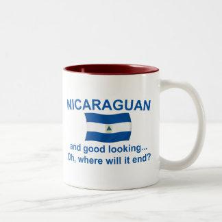 Good Looking Nicaraguan Two-Tone Coffee Mug