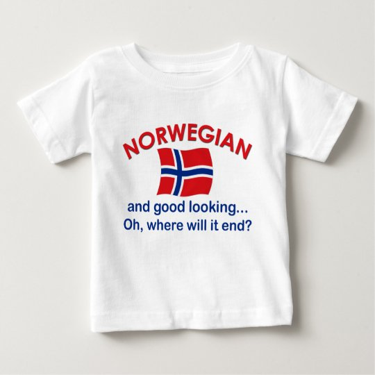 Good Looking Norwegian Baby T-Shirt
