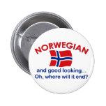 Good Looking Norwegian Button