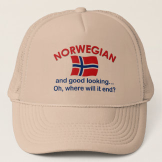 Good Looking Norwegian Trucker Hat