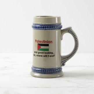 Good Looking Palestinian 18 Oz Beer Stein